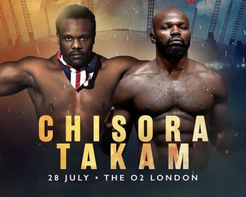 Chisora Versus Takam (ca. 2018)