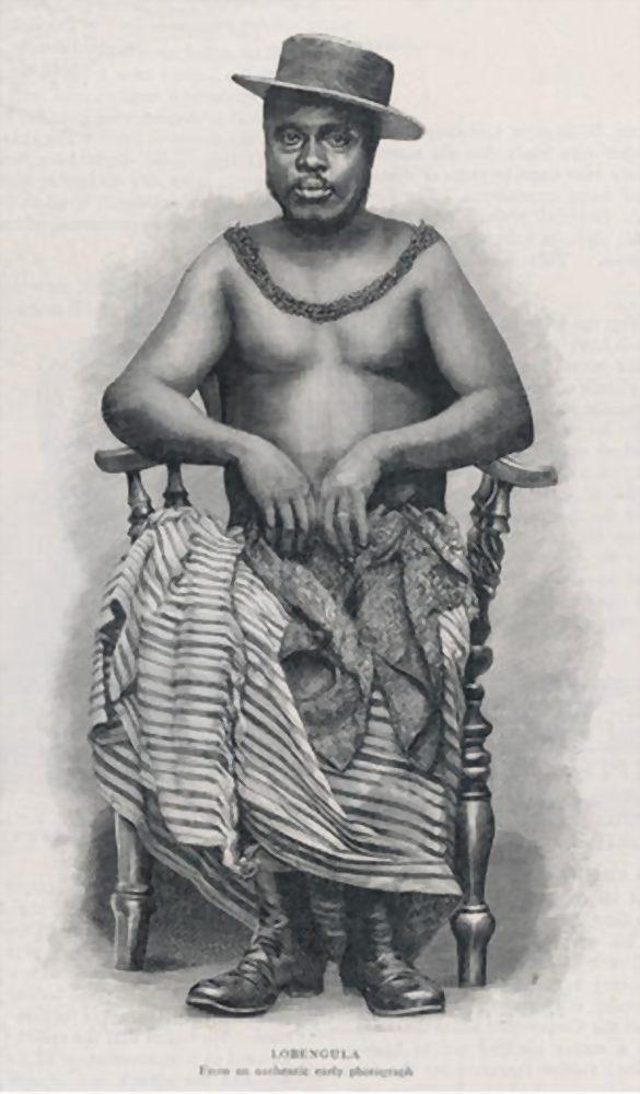 Lobengula of Matabeleland circa 1893