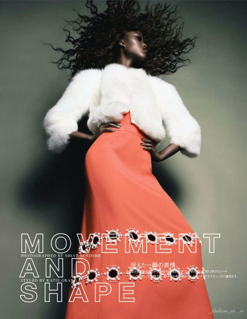 Nyasha Matonhodze featured in Movement and Shape, November 2011